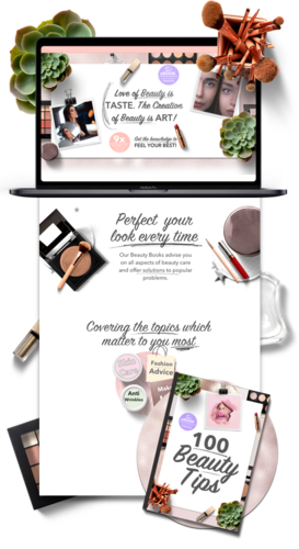 Beauty Niche Weebly Website Business For Sale- 1PEZ Design a Website