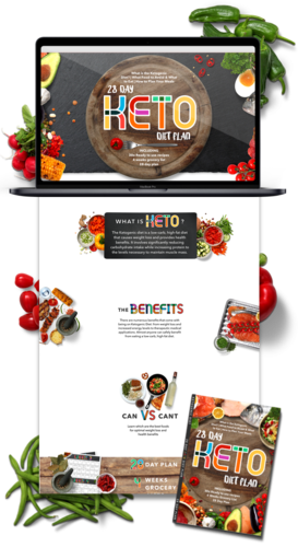 Keto Diet Niche Weebly Website Business For Sale -1Pez Design a Web