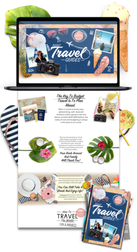 Travel Niche Weebly Website Business For Sale - 1Pez Design a web